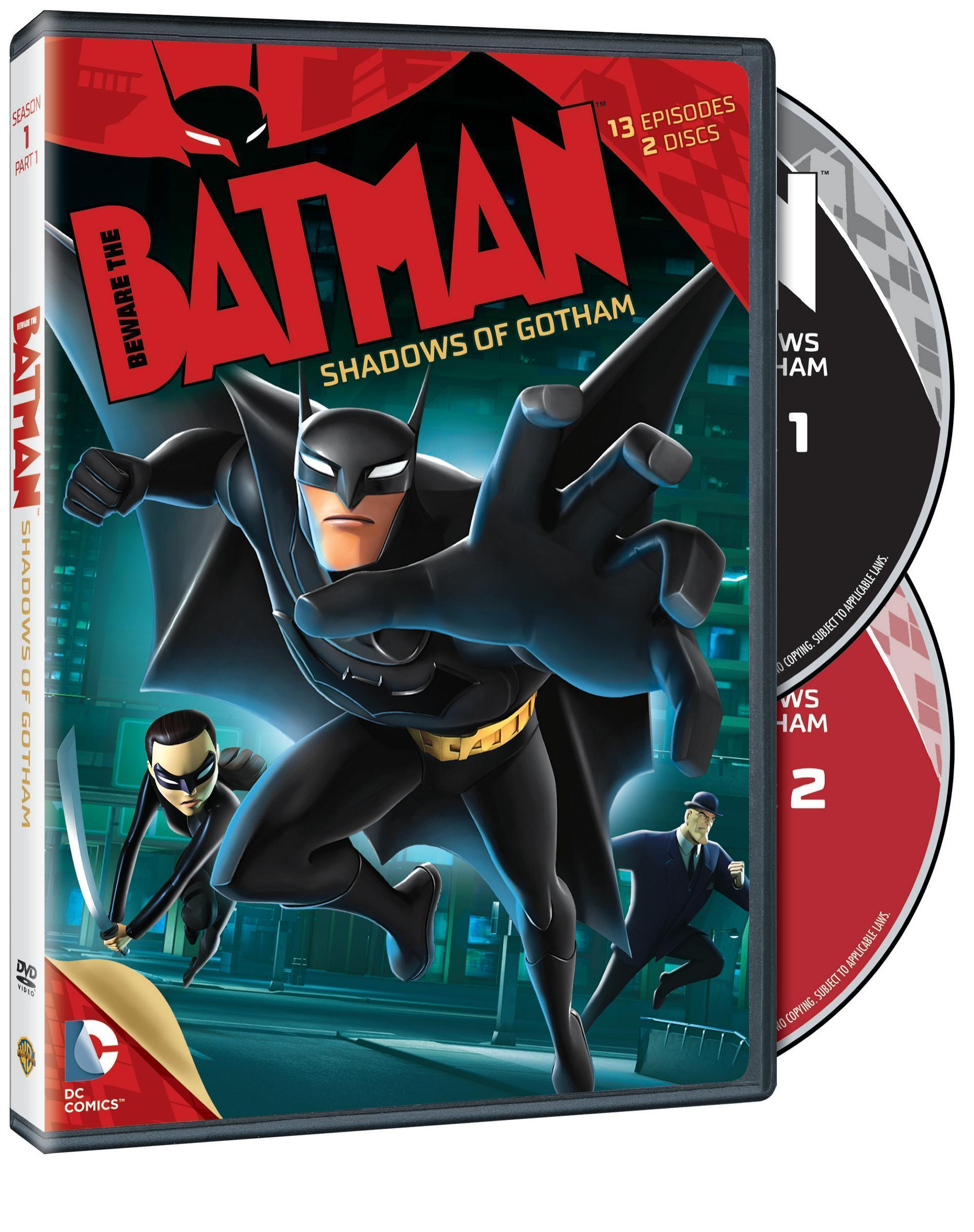 Beware the Batman Season 1 Part 1 DVD