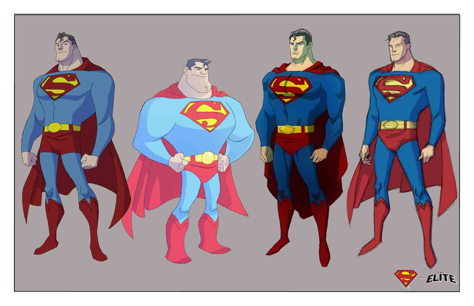 The world 39 s finest superman versus the elite for Elite design