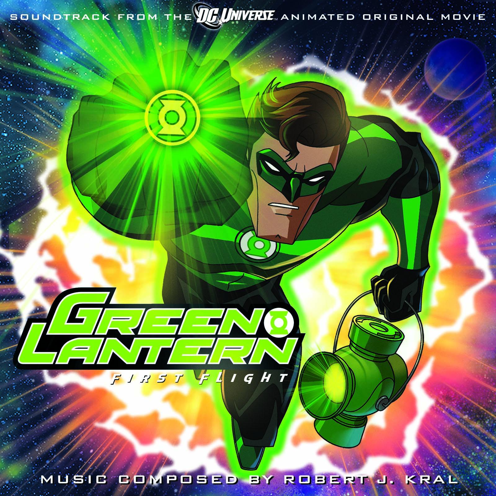 Green lantern first flight movie