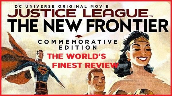 The World's Finest reviews Justice League: The New Frontier - Commemorative Edition