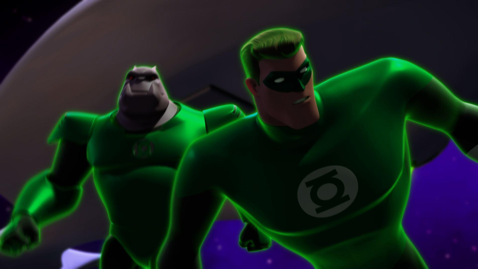 the world s finest green lantern the animated series