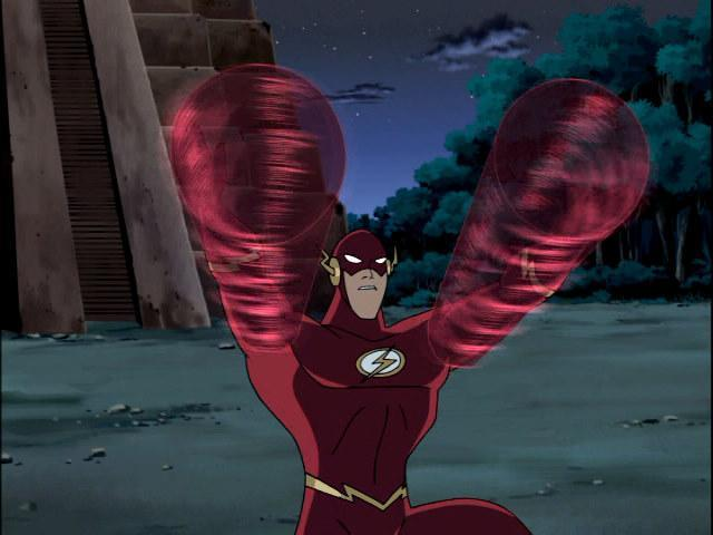 For more on Flash, refer to the Justice League Unlimited bio .