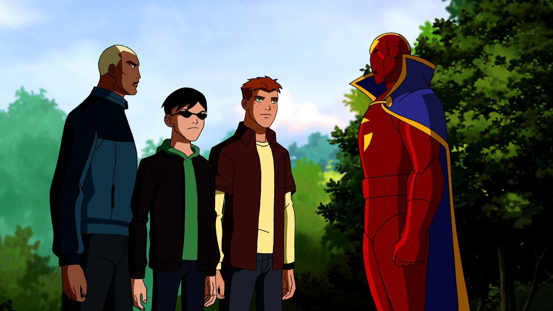 Reviews Young Justice ! 15
