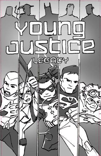 Little Orbit Releases Cover Art, Sketches For Upcoming ... Young Justice Legacy Cover