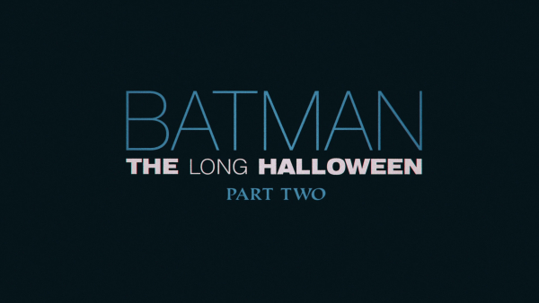 Batman: The Long Halloween, Part Two Animated Feature Review