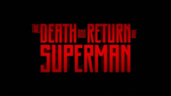 The Death and Return of Superman Animated Release Review