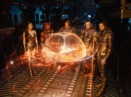 Zack Snyder's Justice League - Wonder Woman, Flash. Cyborg, Batman, Aquaman